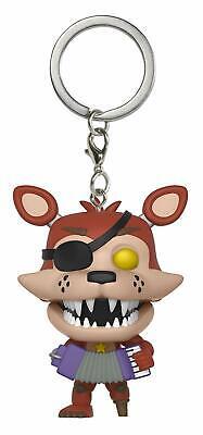 POP Poche Keychain Five Nights at Freddys Rockstar Foxy Funko Figure 21549