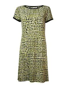 Calvin-Klein-Women-039-s-Printed-Jersey-Shift-Dress