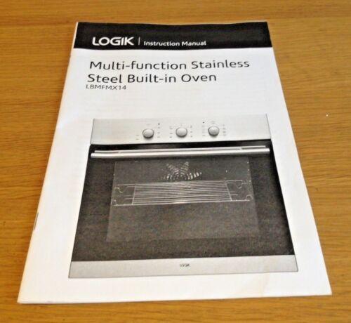 Logik lbmfmx 14 Forno elettrico manuale di istruzioni guida utente