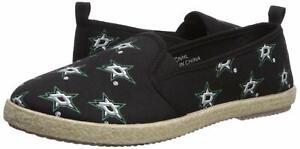 Womens Medium FOCO Dallas Mavericks Espadrille Canvas Shoe