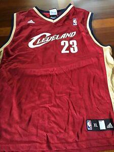 Image is loading LeBron-James-23-Cleveland-Cavaliers-Maroon-Adidas-NBA- 4d3c7a48e