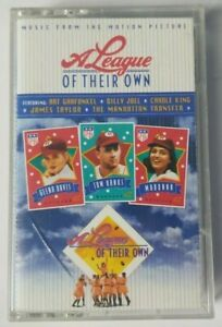 A League of Their Own Cassette Tape Music From the Motion Picture 1992 Sony