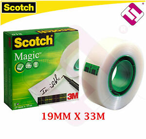 Cinta Invisible Scotch Magic 3m 810 19mm X 33 Metros 810-1933 Modelo Profesional Ltgpgzvm-07170207-528517026