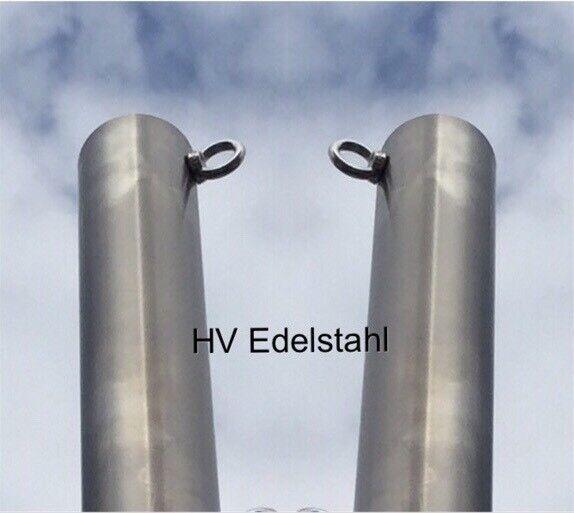 Hängemattengestell Mast Edelstahl Mast 48x2mm  150 cm