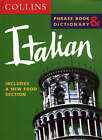 Collins Italian Phrase Book and Dictionary by Harper Collins Publishers (Paperback, 1998)