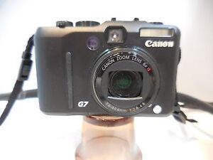 camara-compacta-canon-g7-con-averia-para-piezas