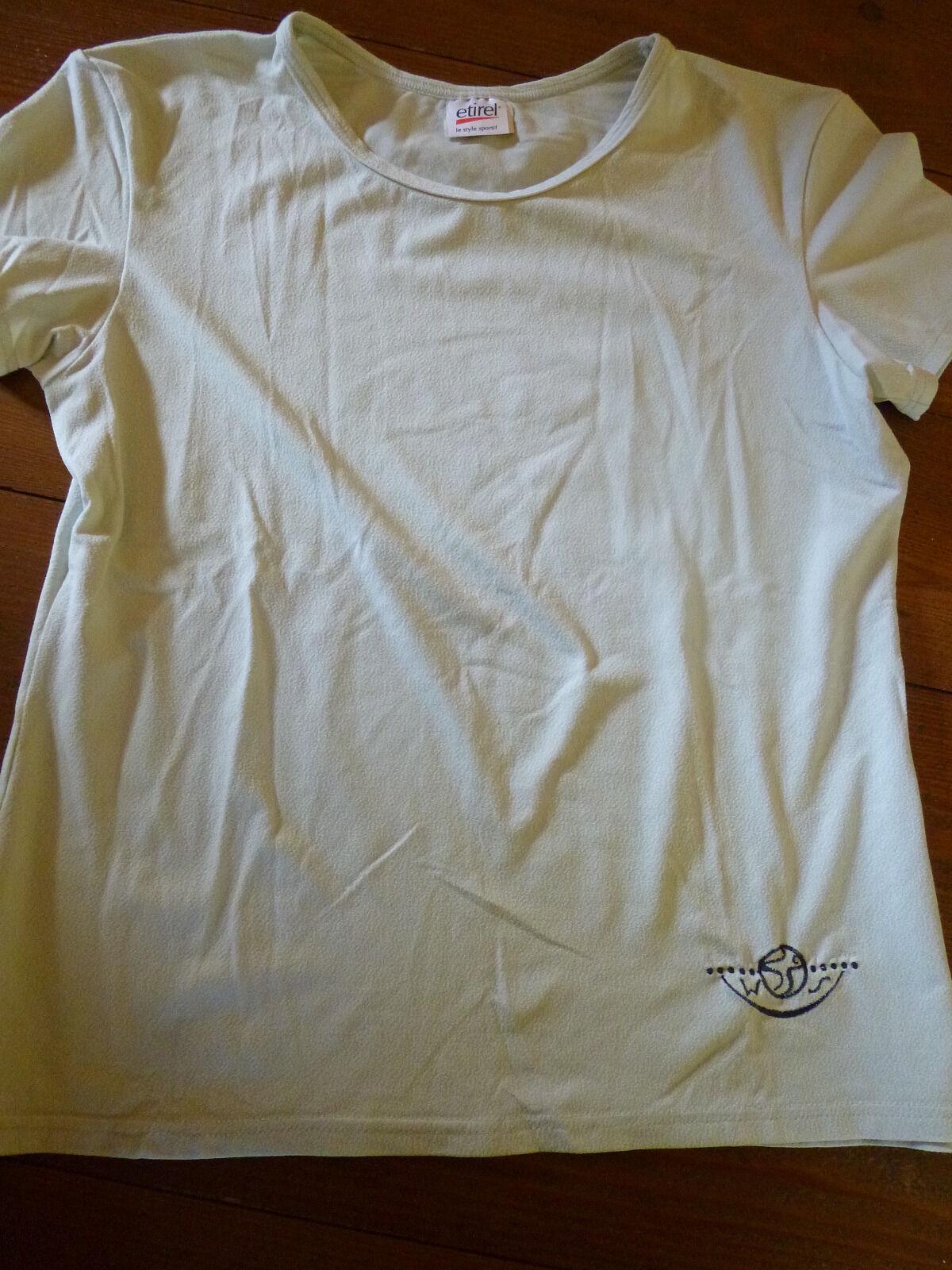 Etirel Strukturshirt Sportshirt Gr. 36 S lindgrün Neu !