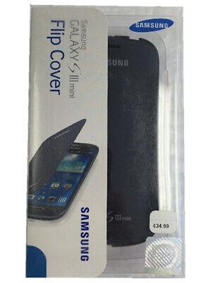 new arrivals 447d0 0ed4b Samsung Galaxy S III mini Flip Cover - Pebble Blue   eBay