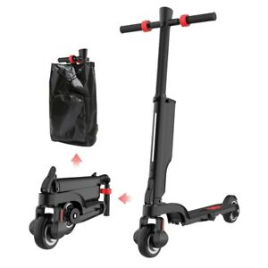 UK-ADULT-KIDS-DOUBLE-FOLDING-BACKPACK-ELECTRIC-SCOOTER-E-SCOOTER-25KM-250W-MOTOR