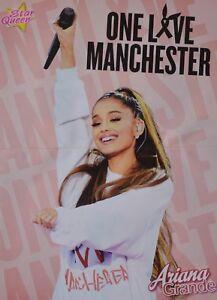 ARIANA-GRANDE-A3-Poster-ca-42-x-28-cm-Clippings-One-Love-Manchester-NEU