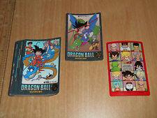 xxx+A Bandai DragonBall Visual Adventure Part 4 Regular Cards x 34pcs 1992