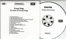 SNOOP DOGG The Best Of 2005 UK 19-track promo test CD Pharrell Williams Dr Dre
