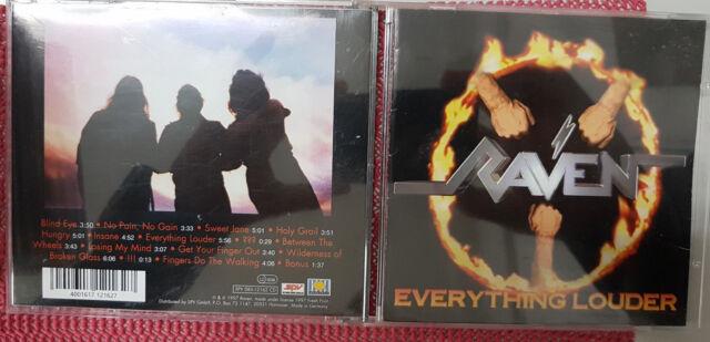 Raven - Everything Louder CD neuwertig