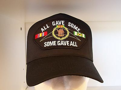 #1626 ALL GAVE SOME SOME GAVE ALL VIETNAM Ballcap Cap Hat