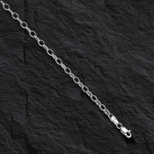 "10k or Jaune Round Câble Rolo Link Pendentif Chaîne//Collier 18/"" 2.3 mm 2.2 g"