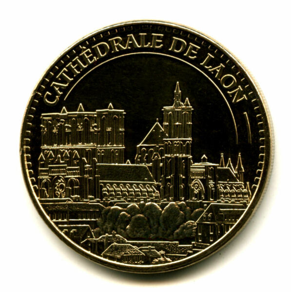 02 Laon Cathédrale, 2015, Monnaie De Paris Produire Un Effet Vers Une Vision Claire
