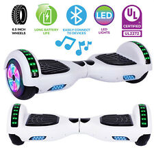 """UL2722 6.5/"""" Wheel Electric Motorized Scooter Hover Board Bluetooth Hoverboard"""