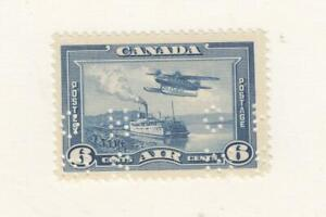 CANADA-YY24-OC6-VF-MNH-6cts-1928-46-STEAMER-amp-MONOPLANE-034-O-H-M-S-034