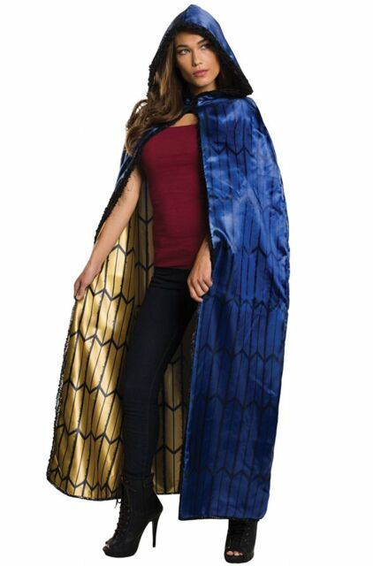 Wonder Woman Cape Justice League Fancy Dress Halloween Adult Costume Accessory