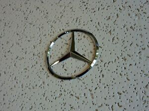 Free New FIT FOR Mercedes  Chrome Star Trunk Emblem Badge 75mm Autopart