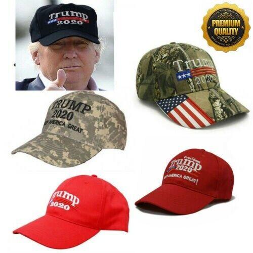 Trump 2020 Hat Keep America Great Make America Great Again Election Camo Cap //en