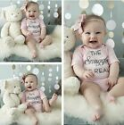 Newborn Toddler Infant Baby Girls Romper Jumpsuit Summer Bodysuit Clothes Outfit