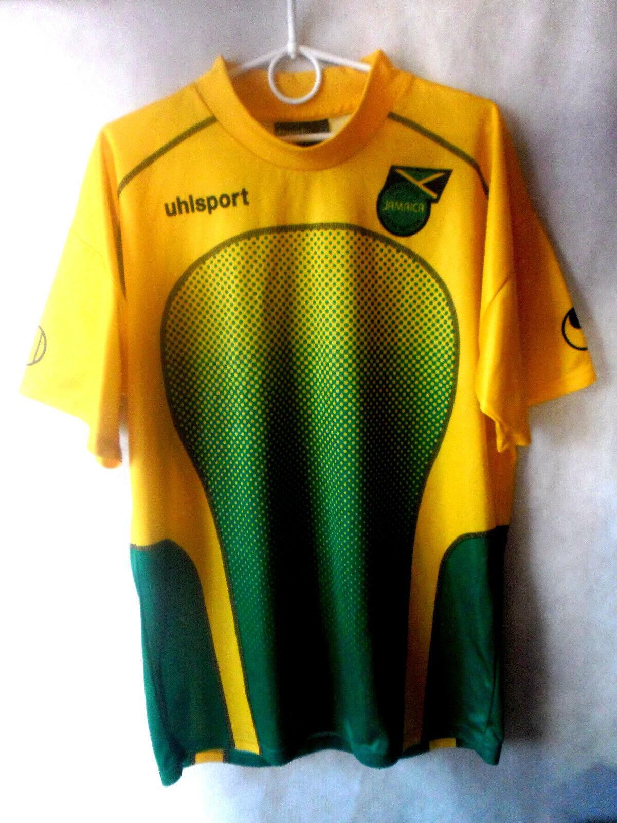 EXCELLENT     2004-06 Jamaica Home Shirt Jersey XL