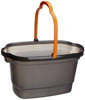 Casabella 4-gallon Bucket, Graphite , New, Free Shipping