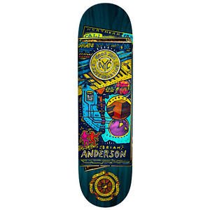 """Anti Hero Skateboard Deck Anderson Maps to Homes 8.75"""" x 32.75"""" Assorted Colors"""
