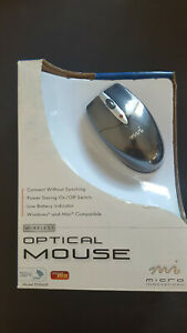 Micro Innovations Wireless Optical USB Mouse - PD960P (NEW)