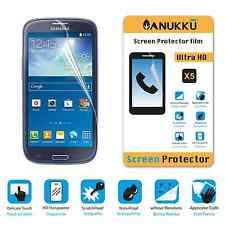 3x PELLICOLA per Samsung Galaxy S3 GT-I9300 FRONTE + PANNO PROTETTIVA DISPLAY