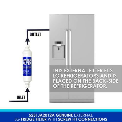 GR-D257SLSL 2X LG Original Water Filter
