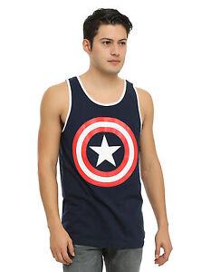 5f81f14aeb705 Image is loading Marvel-Captain-America-Shield-Tank-Top