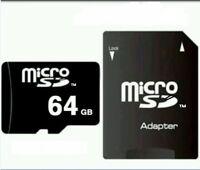 64 GB MICRO SD-SPEICHERKARTE CLASS 10! NEU + OVP! Smartphones, Tablet, Navi,top
