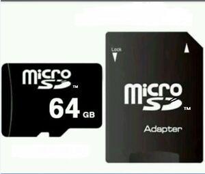 64 GB MICRO SD-SPEICHERKARTE CLASS 10! NEU! Volle 64GB!
