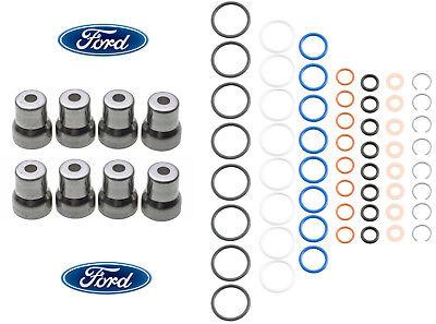 03-10 Ford 6.0 6.0L Powerstroke Diesel OEM Genuine Ford Fuel Injector Sleeves 1