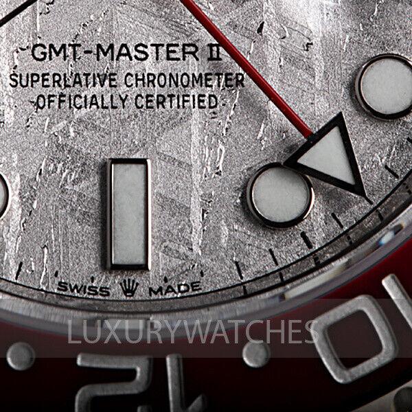 ROLEX GMT-MASTER II PEPSI METEORITE