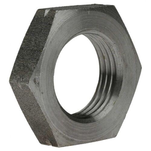 Feingewinde M 42x1,5 14 H blank DIN 936 Sechskantmutter niedrige Form mit Fase