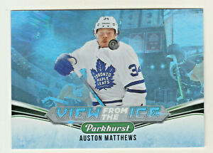 2019-20-UD-Parkhurst-VIEW-FROM-THE-ICE-AUSTON-MATTHEWS-Maple-Leafs-QTY-AVAILABLE