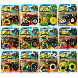 Hot-Wheels-Monster-Trucks-1-64-Collection-CHOOSE-YOUR-TRUCK