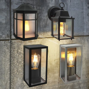 Image Is Loading Traditional Vintage Style Outdoor Single Wall Lights Ip44