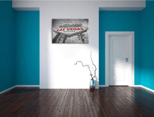 Las vegas Sign Leinwandbild Wanddeko Kunstdruck