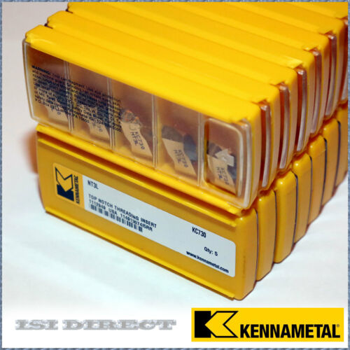 NT3L KC730 KENNAMETAL 10 INSERTS FACTORY PACK