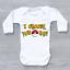 Pokemon ir elijo que Papá Divertido Unisex Bebé crezca Body