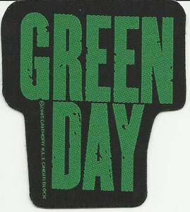 GREEN-DAY-logo-cut-out-2004-WOVEN-SEW-ON-PATCH-official-no-longer-made
