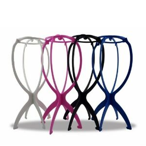 Portable-Folding-Wig-Stand-Hair-Hat-Cap-Holder-Mannequin-Stable-Durable-Tool-Z5H