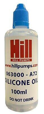 Hill Pumps EC-3000 Huile Kit-Huile Silicone /& Manivelle Huile-Z3000-002