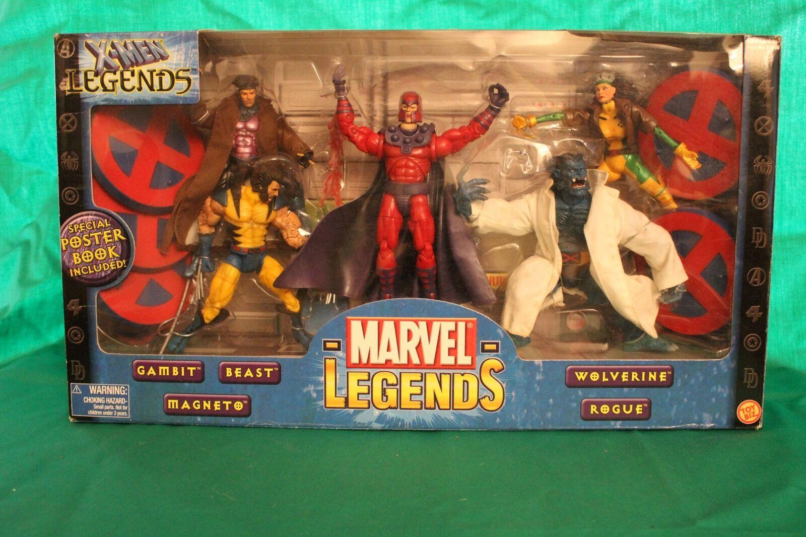 Marvel legends X-Men Legends Box Set (2003)