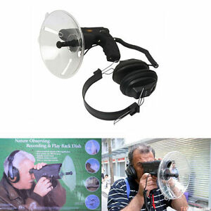 Birds-Monocular-Bionic-Parabolic-Microphone-Ear-Long-Range-Listening-To-300-FT