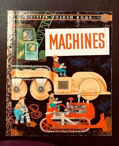 Vintage-Little-Golden-MACHINES-034-A-034-1st-Ed-William-Dugan